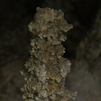 Popcorn-Covered Stalagmite