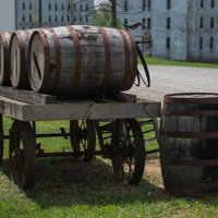 Barrels and Cart
