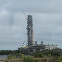 Construction Launch Pad 39b